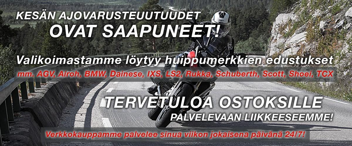 Jokiniemi-Motors Oy, Seinäjoki - Aprilia, BMW, Suzuki, Kawasaki, Yamaha - Moottoripyöriä, mönkijöitä, veneitä, moottorikelkkoja, perämoottoreita, varaosia, ajovarusteita
